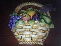 Fruit Basket Wall Decor/Key Holder in Fort Benning, Georgia