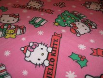 Hello Kitty Christmas  Fleece Blanket in Fort Bragg, North Carolina