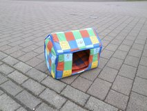 colorful cat house in Ramstein, Germany