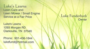 Luke's Lawn Care Service and Free Mower Removal in Fort Campbell, Kentucky