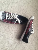 Coach Shoes/blk w red in Bartlett, Illinois