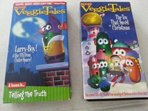 2 Veggie Tales  VHS tapes in Lockport, Illinois