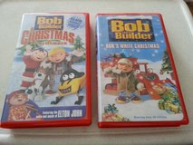 2  Bob the Builder VHS tapes (Christmas theme) in Naperville, Illinois