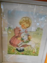 Vintage nursery picture in Cherry Point, North Carolina