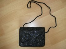 Black beaded Evening Bag in Ramstein, Germany