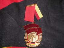COLD WAR ERA EAST GERMAN ORDER of the RED BANNER OF LABOR 3rd CLASS in Camp Lejeune, North Carolina
