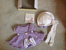American girl Easter set in Lockport, Illinois