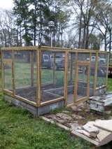 Raised Garden Enclosure in Conroe, Texas