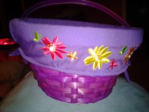 purple basket with flowers in Fort Campbell, Kentucky