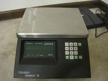 TOLEDO DIGITAL SENTINEL III DIGITAL GROCERY SCALE 15 KG (30 LB) WEIGHING SYSTEM in Tinley Park, Illinois