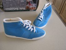 Teal blue high tops in Alamogordo, New Mexico