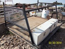 Truck Flat Bed with Rack in Alamogordo, New Mexico