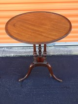 Mahogany Pineapple Accent Table in Cherry Point, North Carolina