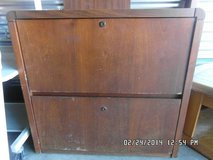 2 Drawer Wooden Dresser W/Locking Drawers KM 4 in Fort Carson, Colorado