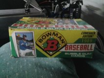 1989 BOWMAN BASEBALL CARDS (IN BOX) in Travis AFB, California