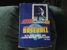 1989 SCORE BASEBALL CARDS in Travis AFB, California