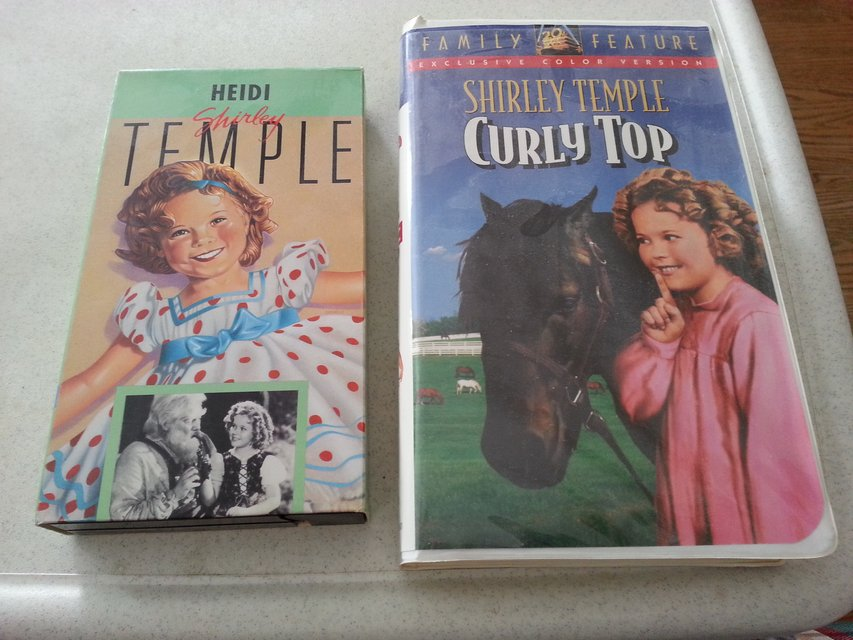 Shirley Temple Vhs